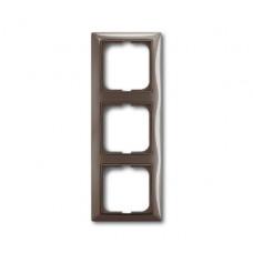 Рамка ABB Basic 55 серый 3-ая (1)