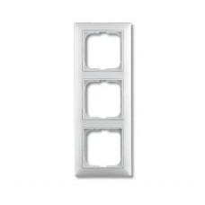 Рамка ABB Basic 55 белая 3-ая (10)