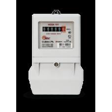 Счётчик электроэнергии 220В однотарифный 5-60А ЭУ Нева 101 2020г (30)