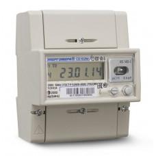 Счётчик электроэнергии 220В многотарифный DIN 5-60А ЖКИ Энергомера СЕ102М R5 145-J 2020г (10)