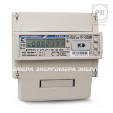 Счётчик электроэнергии 380В многотарифный DIN 5- 10А ЖКИ Энергомера CE303 R33 543-JAZ 2020г (8)
