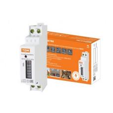 Счётчик электроэнергии 220В однотарифный DIN 5-40А ЭУ TDM Марс-б/п-1 0-11-Р