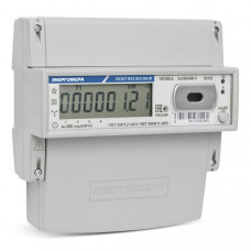 Счётчик электроэнергии 380В многотарифный DIN 5- 60А ЖКИ Энергомера CE307 R33 145.O 2020г (8)