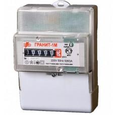 Счётчик электроэнергии 220В однотарифный DIN 5-60А ЭУ Грaнит-1М (50)