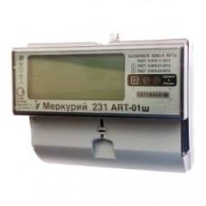 Счётчик электроэнергии 380В многотарифный DIN 5- 60А Меркурий 231 ART-01Ш (16)