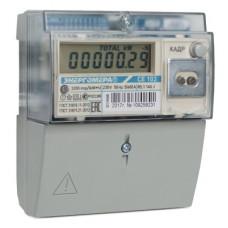 Счётчик электроэнергии 220В многотарифный DIN 5-60А ЖКИ Энергомера СЕ102 R5.1 145 J 2020г (10)