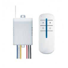Дистанционный выключатель Navigator NRC-SW01-1V1-3 3х1000Вт (50)