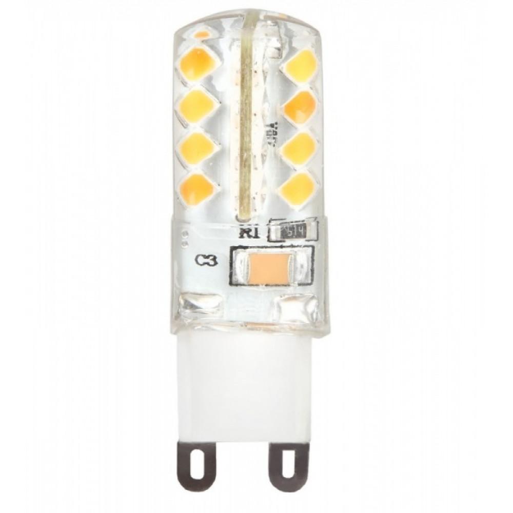 Лампа диодная G9 4Вт 3000К 210Лм SmartBuy (50)