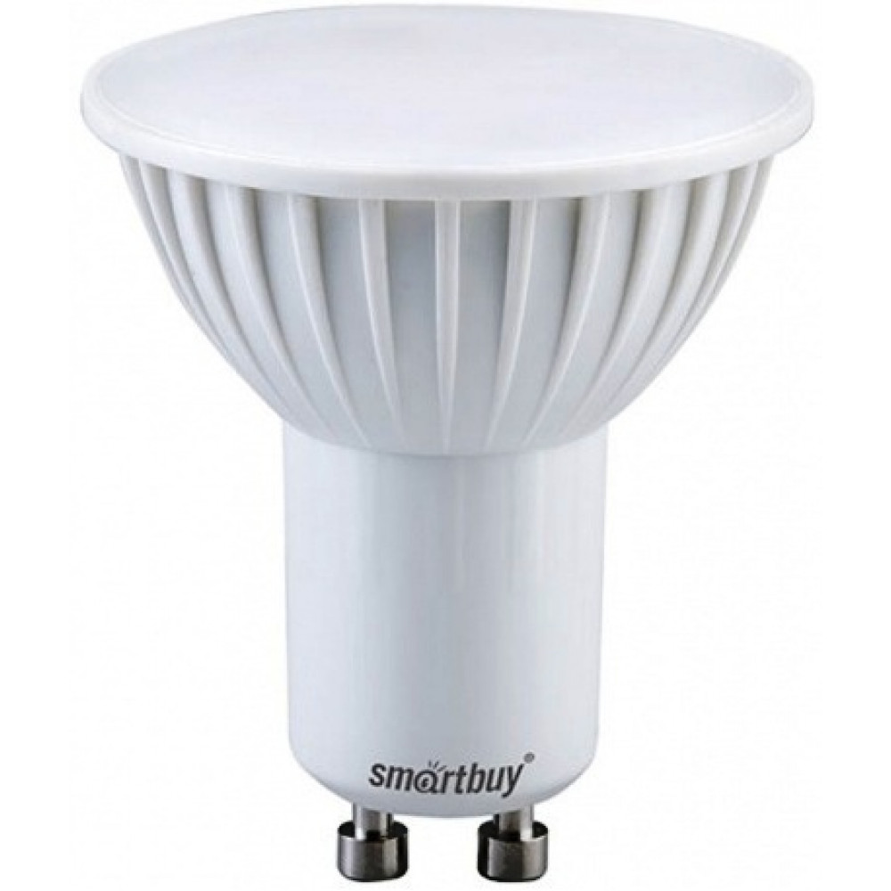 Лампа диодная MR16 GU10 9.5Вт 6000К 760Лм SmartBuy (50)