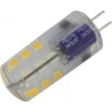 Лампа диодная G4 12В 3.5Вт 6400К 240Лм SmartBuy (100)