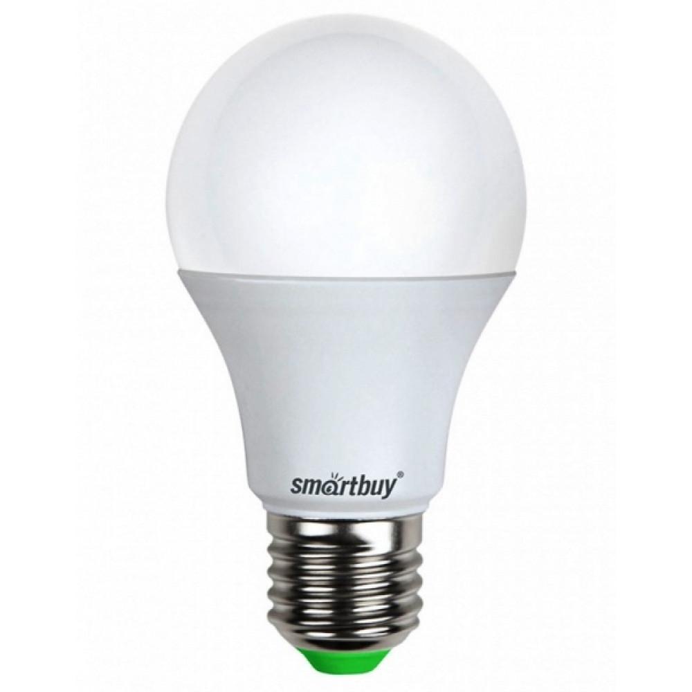 Лампа диодная A60 7Вт Е27 3000К 600Лм SmartBuy (100)