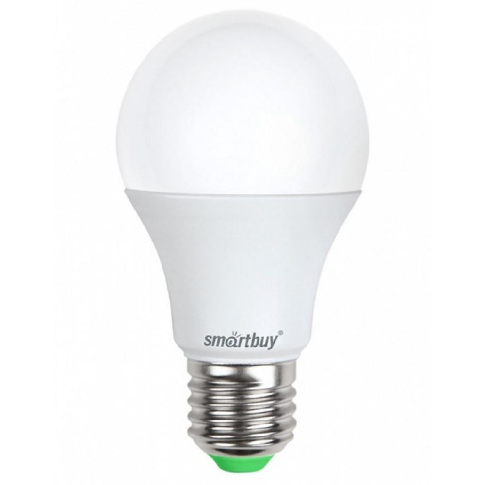 Лампа диодная A60 15Вт Е27 3000К 1200Лм SmartBuy (100)*