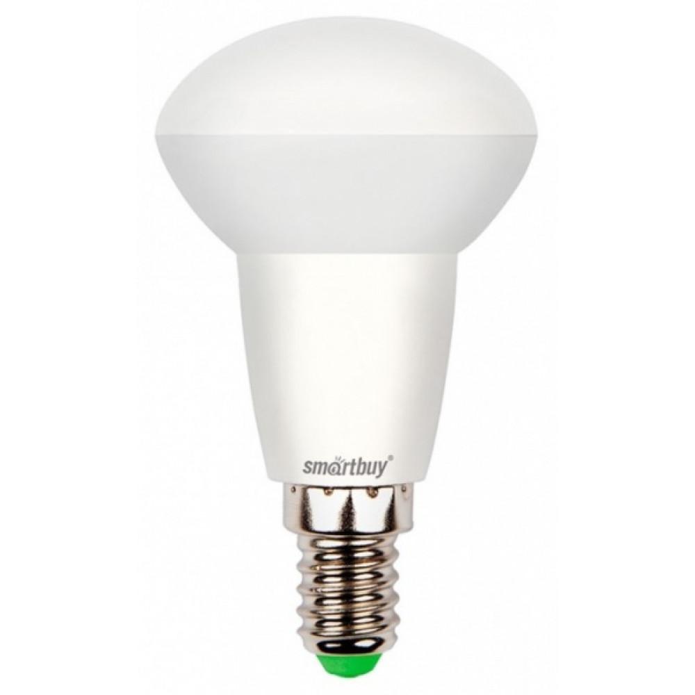 Лампа диодная R50 6Вт Е14 3000К 380Лм SmartBuy (100)