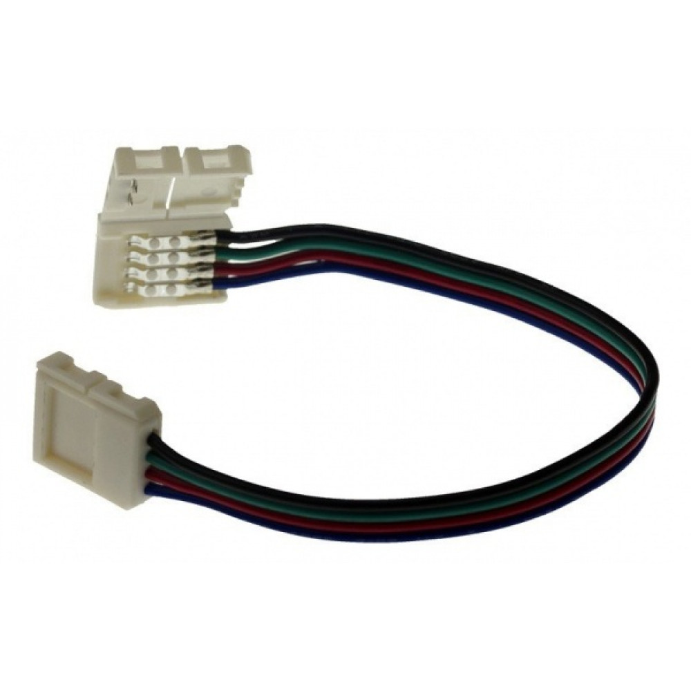 Коннектор 5050 гибкий 2 разъёма RGB 20см InHome LS50-СС (50)