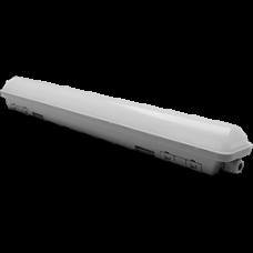 Светильник линейный IP65 Ecola 18Вт 6500К 1300Лм 580x60x65мм (12)