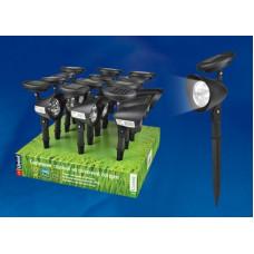 Светильник на солнечной батарее Uniel USL-C-691 6500К 27см 200мАч чёрный IP44 (12)