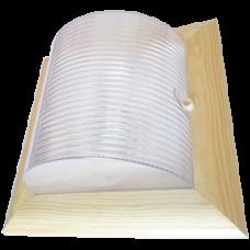 Светильник уличный настенный GX53x2 Ecola НББ-04-60-012 IP65 клен []245x110мм