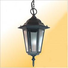 Светильник уличный подвесной Е27 Camelion 4105 С02 60Вт чёрный (10)*