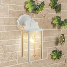 Светильник уличный настенный Е27 ES Brick 1008D 60Вт IP33 белый