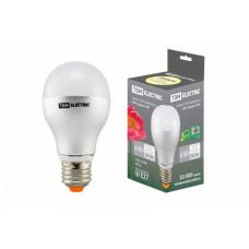 Лампа диодная A60 6Вт Е27 3000К 500Лм TDM (50)