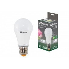 Лампа диодная A60 12Вт Е27 3000К 1000Лм TDM (10/100)