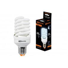 Лампа КЛЛ 25Вт Е27 4000К T2 FS TDM (10/50)