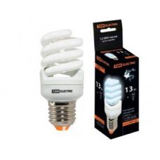 Лампа КЛЛ 15Вт Е14 4000К T2 FS TDM (10/50)