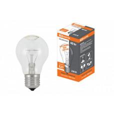 Лампа накаливания A55 40Вт Е27 прозрачная TDM (100)