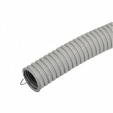 Труба гофрированная ПВХ 16мм серый U-Plast (10)