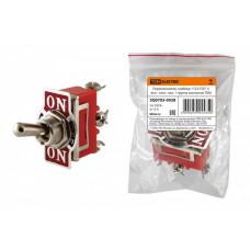 Тумблер TDM 1122 вкл-выкл-вкл 1гр конт (10)