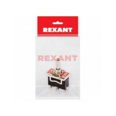 Тумблер Rexant вкл-выкл-вкл 15А 1п инд упак