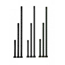 Опора TDM металл витая 1200мм черная