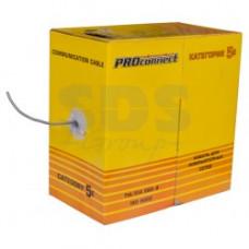 Кабель UTP - 5е 4х2х0.5 Proconnect Light омедненный (305)