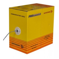 Кабель UTP - 5е 4х2х0.5 Proconnect медь (305)