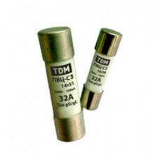 Вставка плавкая ПВЦ-С2 10х38 0,5А TDM (20)