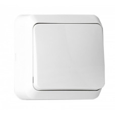 Выключатель Smartbuy Юпитер 1кл белый (10/200)
