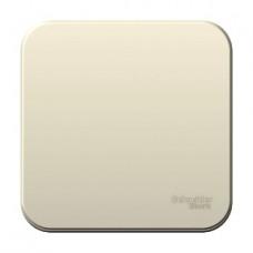 Выключатель Blanca 1-ОП монтажная пластина молочный (15)