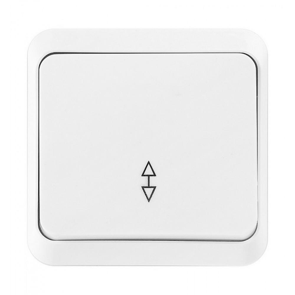Выключатель Smartbuy Юпитер 1кл проходной белый (10/200)