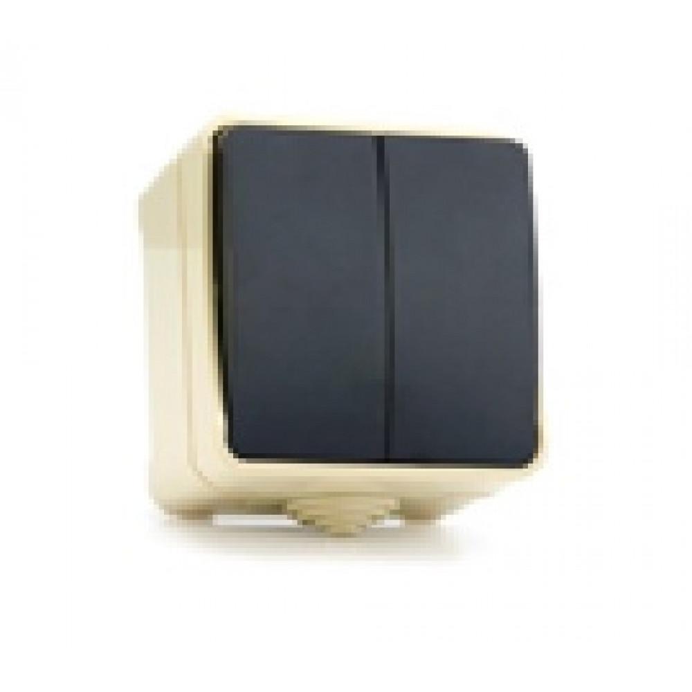 Выключатель Smartbuy Сатурн белый 2кл IP54 (18/216)