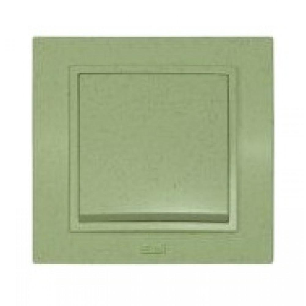 Выкл. EL-Bi Zena granite 1кл. оливк. в сборе (10)