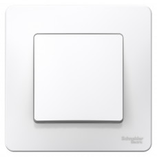 Выключатель Blanca 1-СП 6А белый (10)
