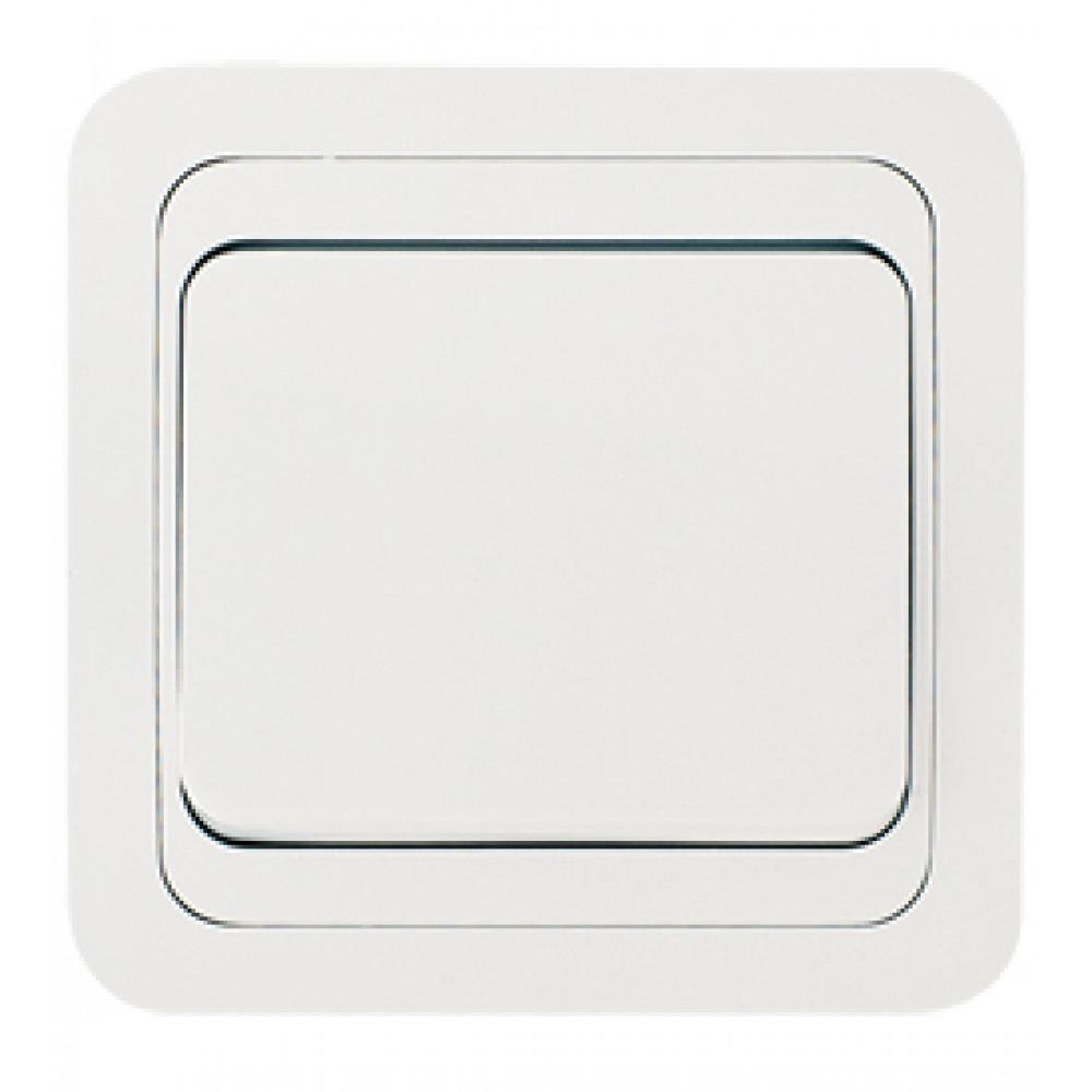 Выключатель Makel Mimoza 1кл. белый (12)