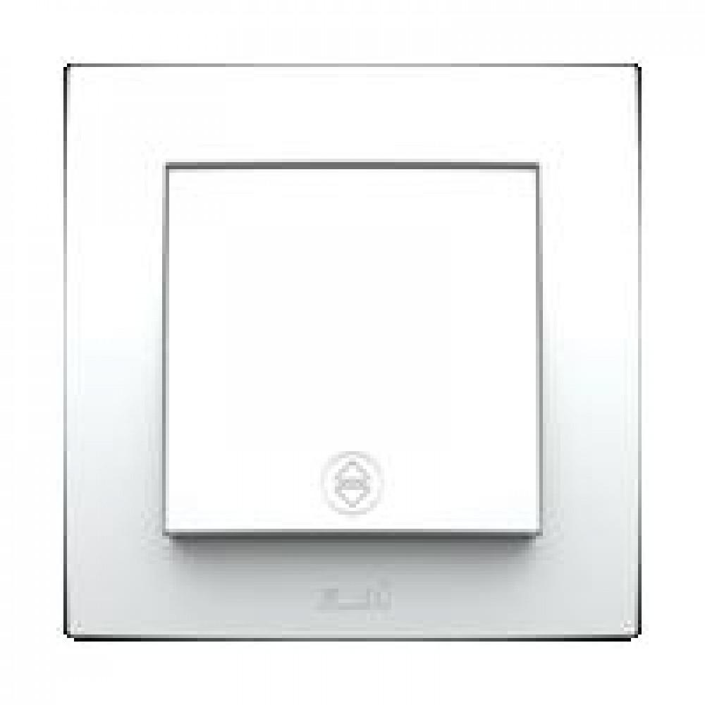 Выключатель EL-Bi NEO 1кл. белый проходной (20)