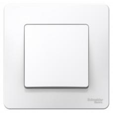 Выключатель Blanca 1-СП 10А проходной белый (10)