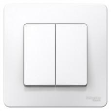 Выключатель Blanca 2-СП 6А белый (10)