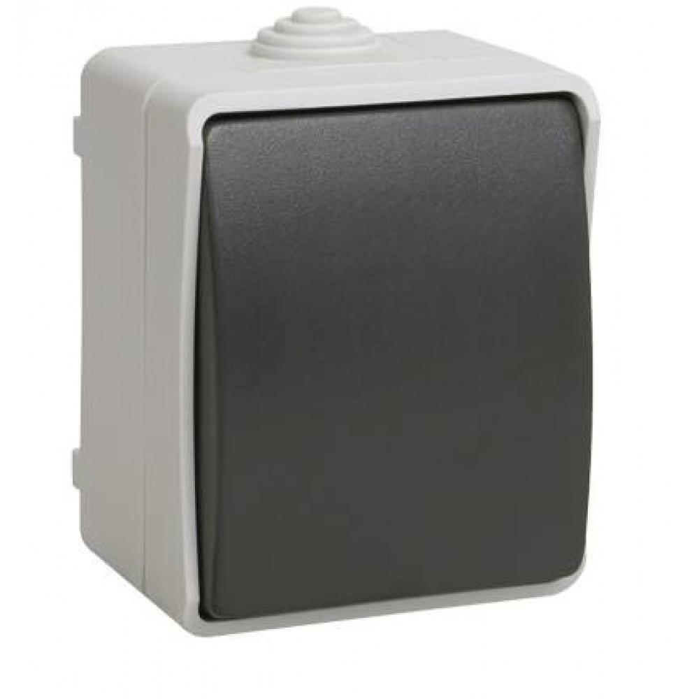Выключатель IEK Форс 1кл. IP54 (10/100)