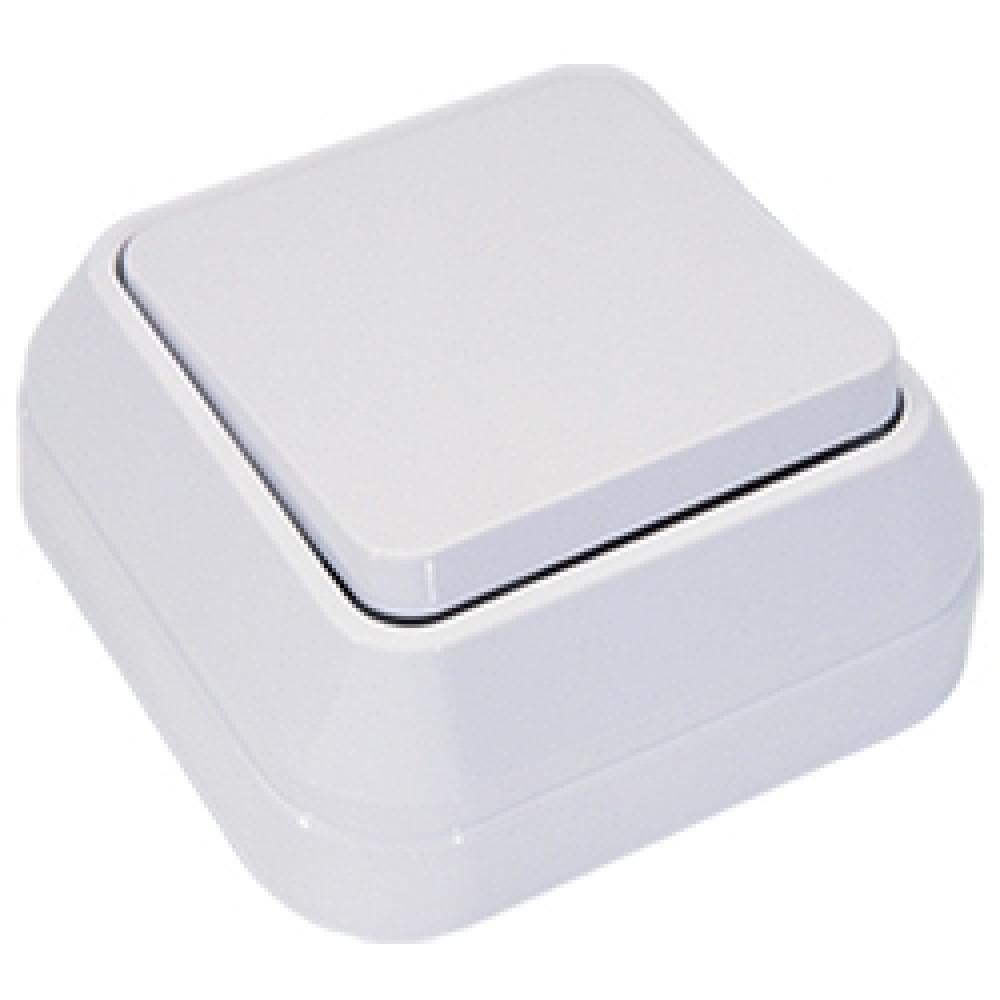Выключатель Makel накладной 1 кл. белый (10/100)