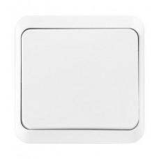 Выключатель Smartbuy Марс белый 1кл керамика (10/200)