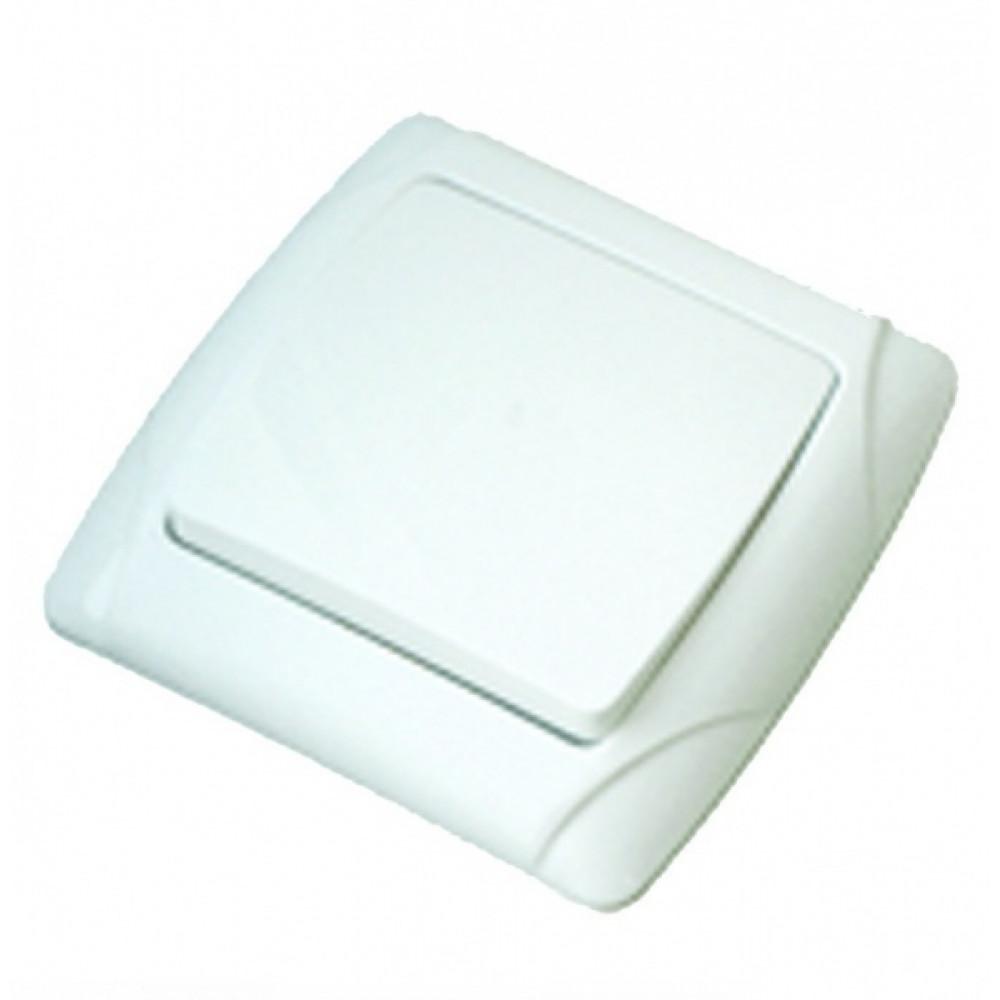 Выключатель TDM Онега 1кл. белый (10/200)