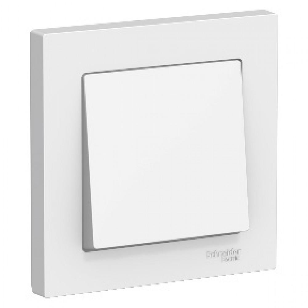 Выключатель Atlas 1кл в сборе белый (15)